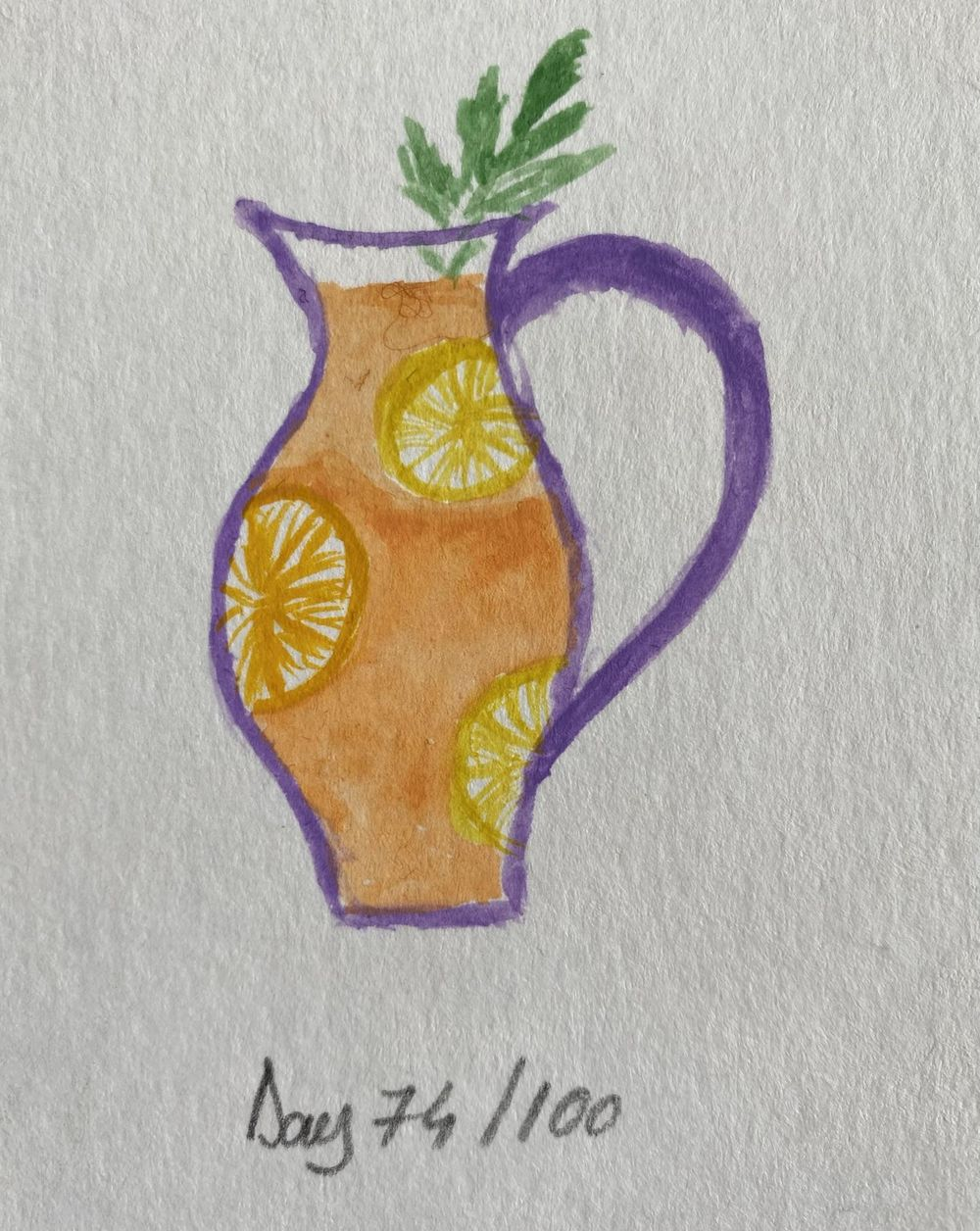 100 Day Watercolor Challenge - image 74 - student project