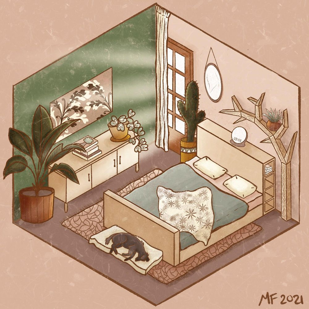Isometric room - image 3 - student project