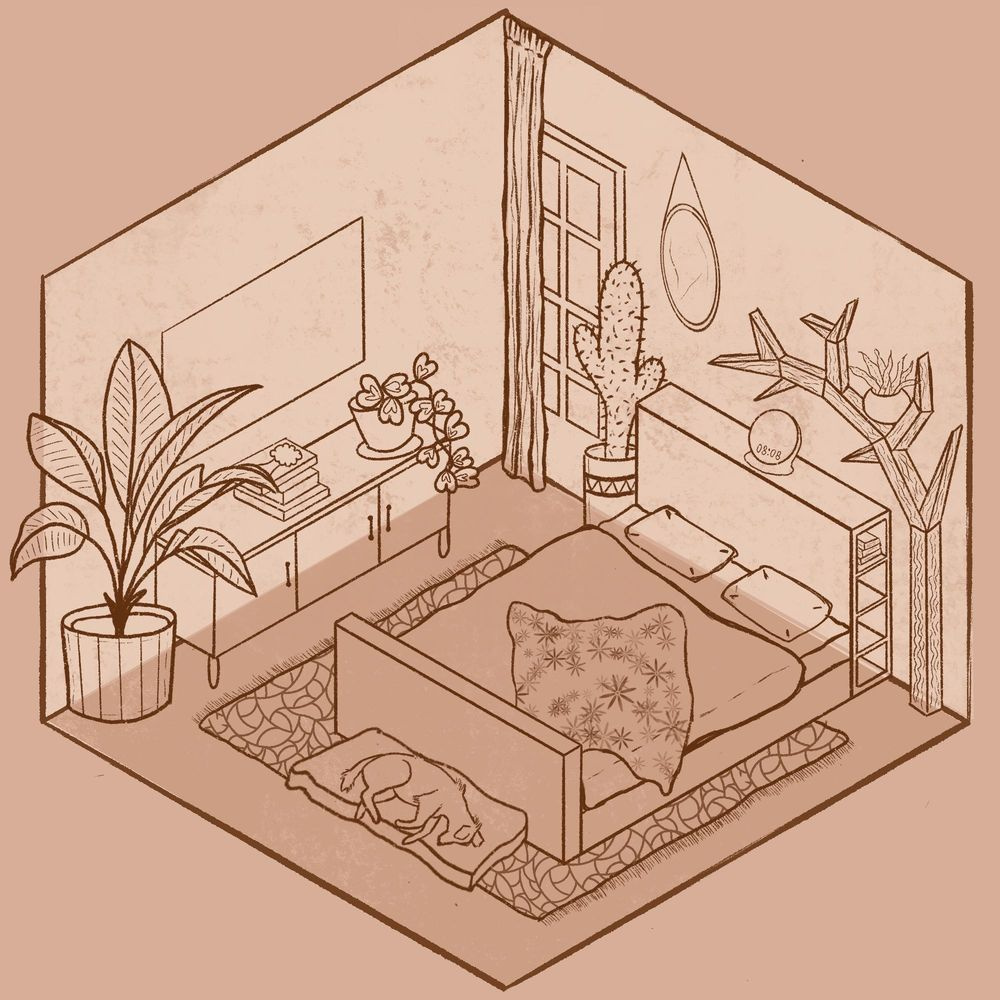 Isometric room - image 2 - student project