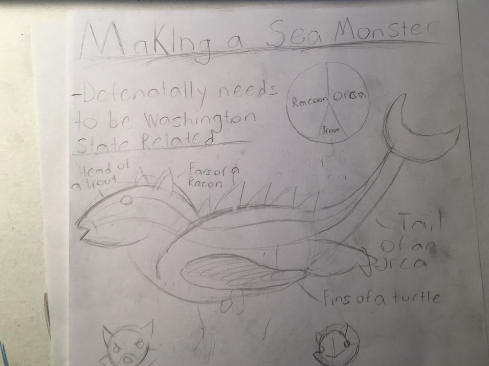 Jake McCartney Sea Monster - image 2 - student project