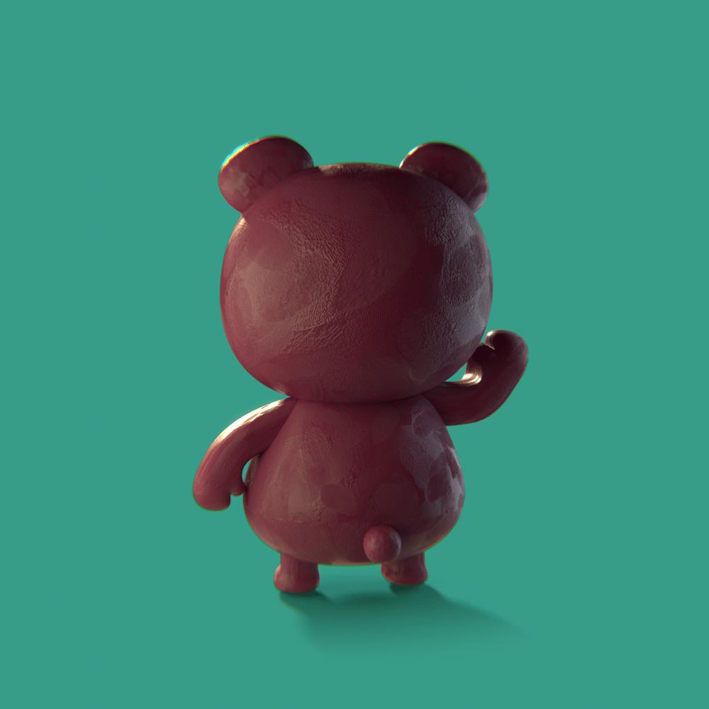 Lotso Bear - image 1 - student project
