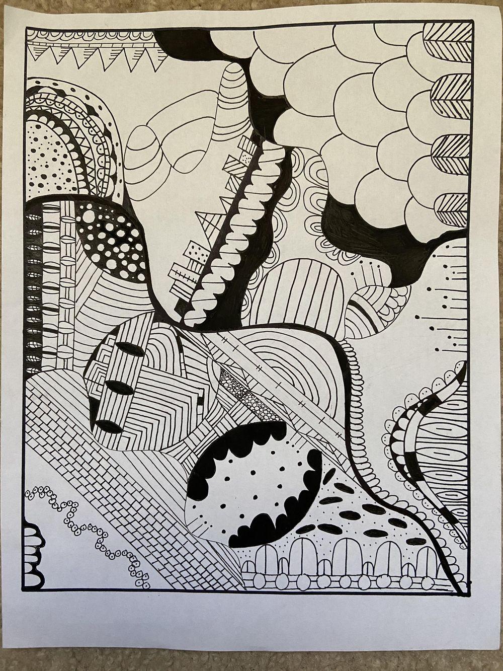 Doodle Art :) - image 1 - student project