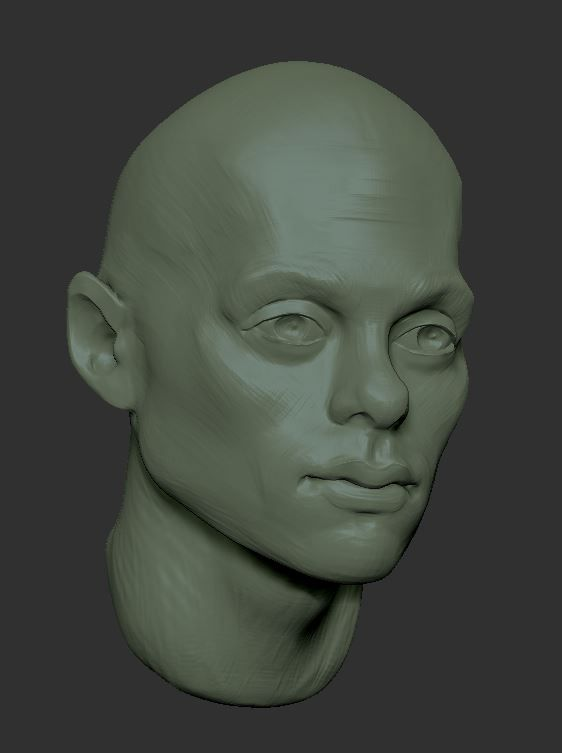 Learning how to people in Zbrush - image 1 - student project