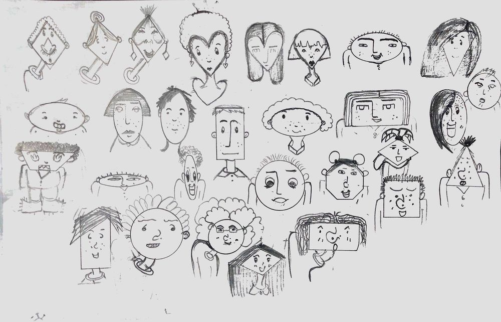 Different faces shape - image 1 - student project