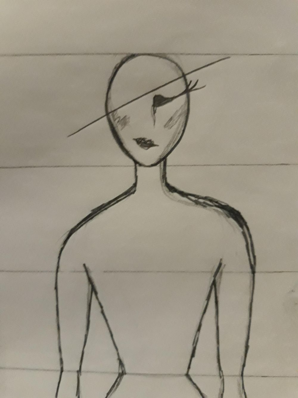 First ever attempt on figure drawing - image 3 - student project
