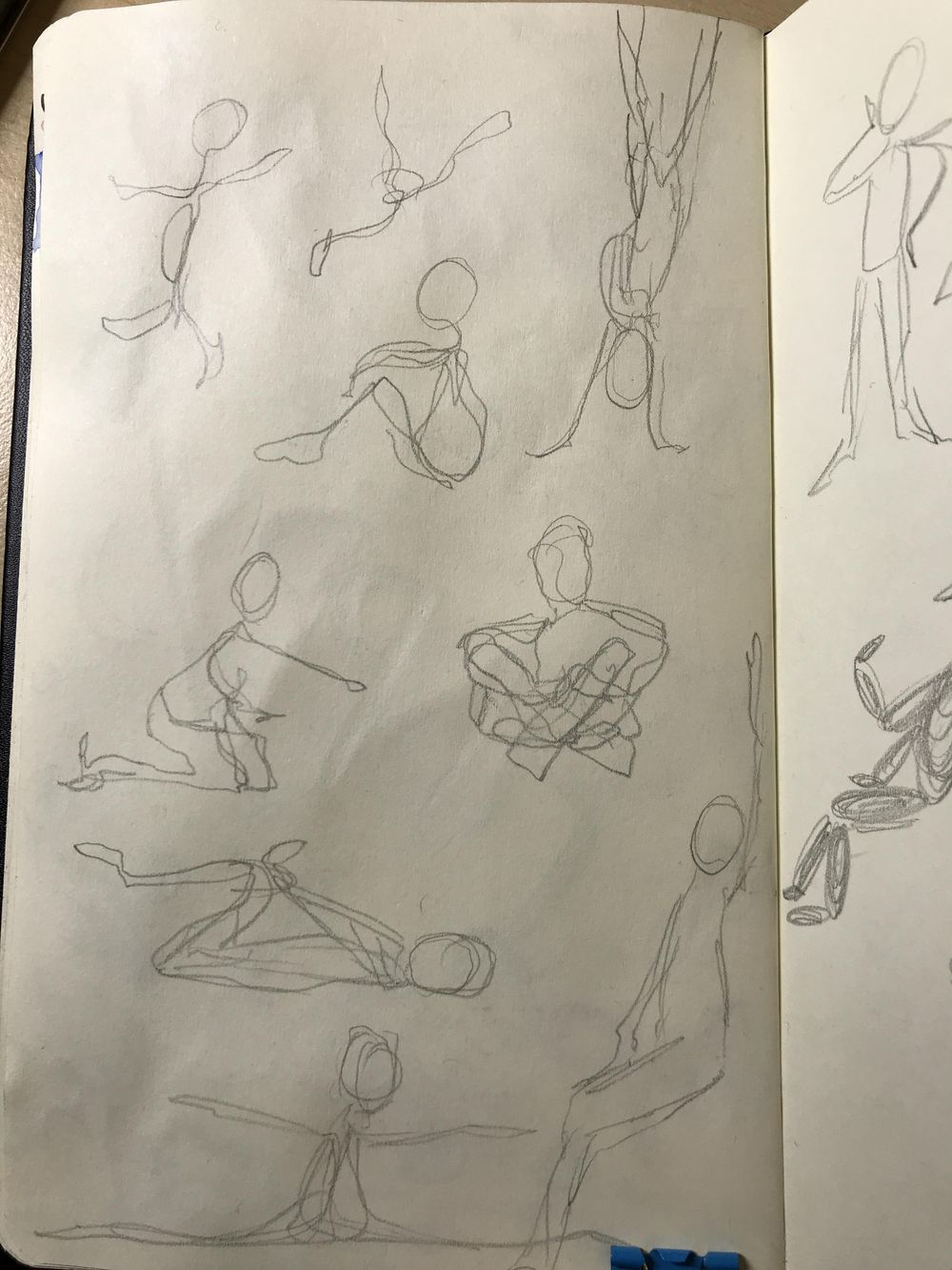Female Body sketching - image 5 - student project