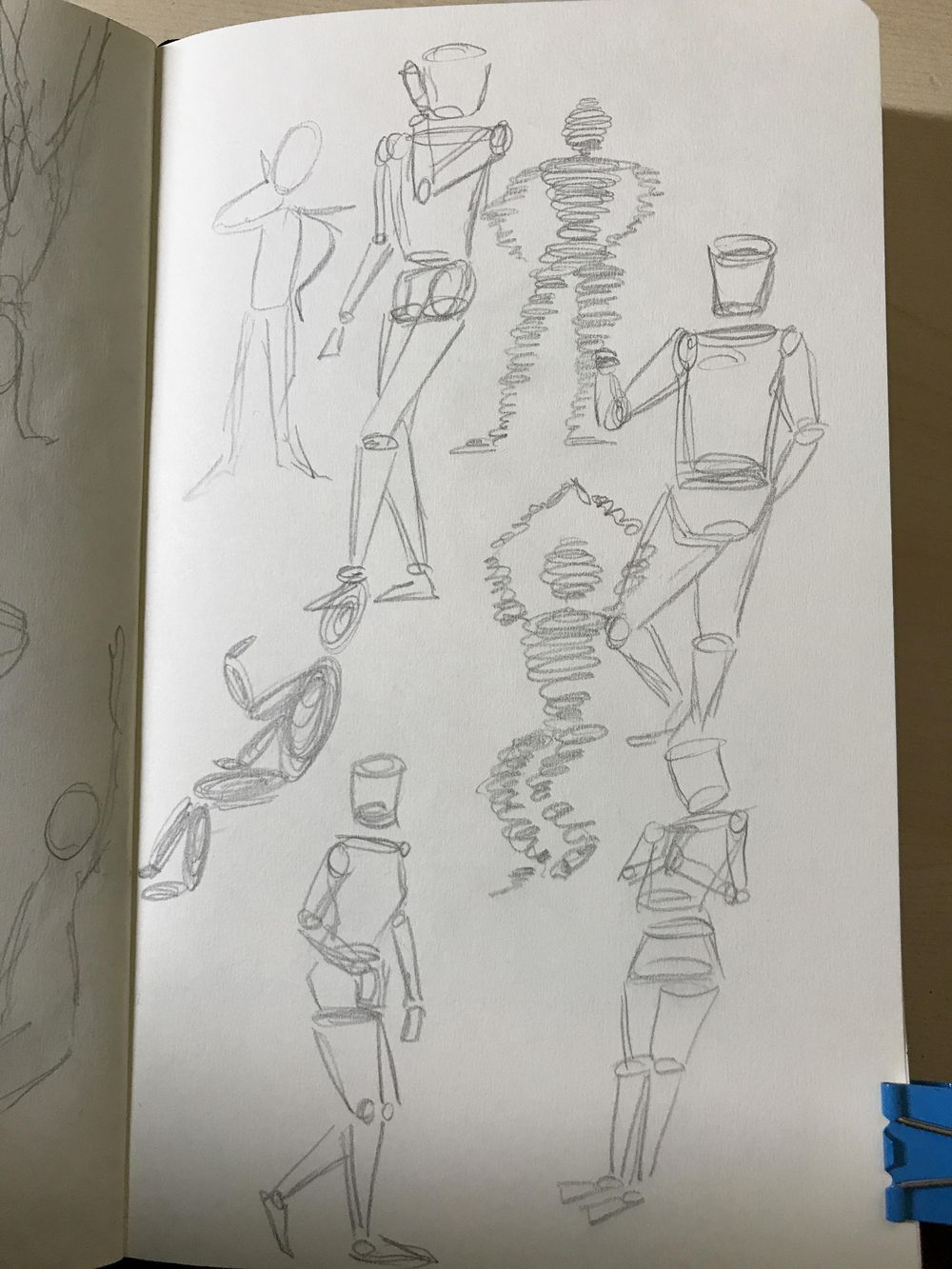 Female Body sketching - image 2 - student project