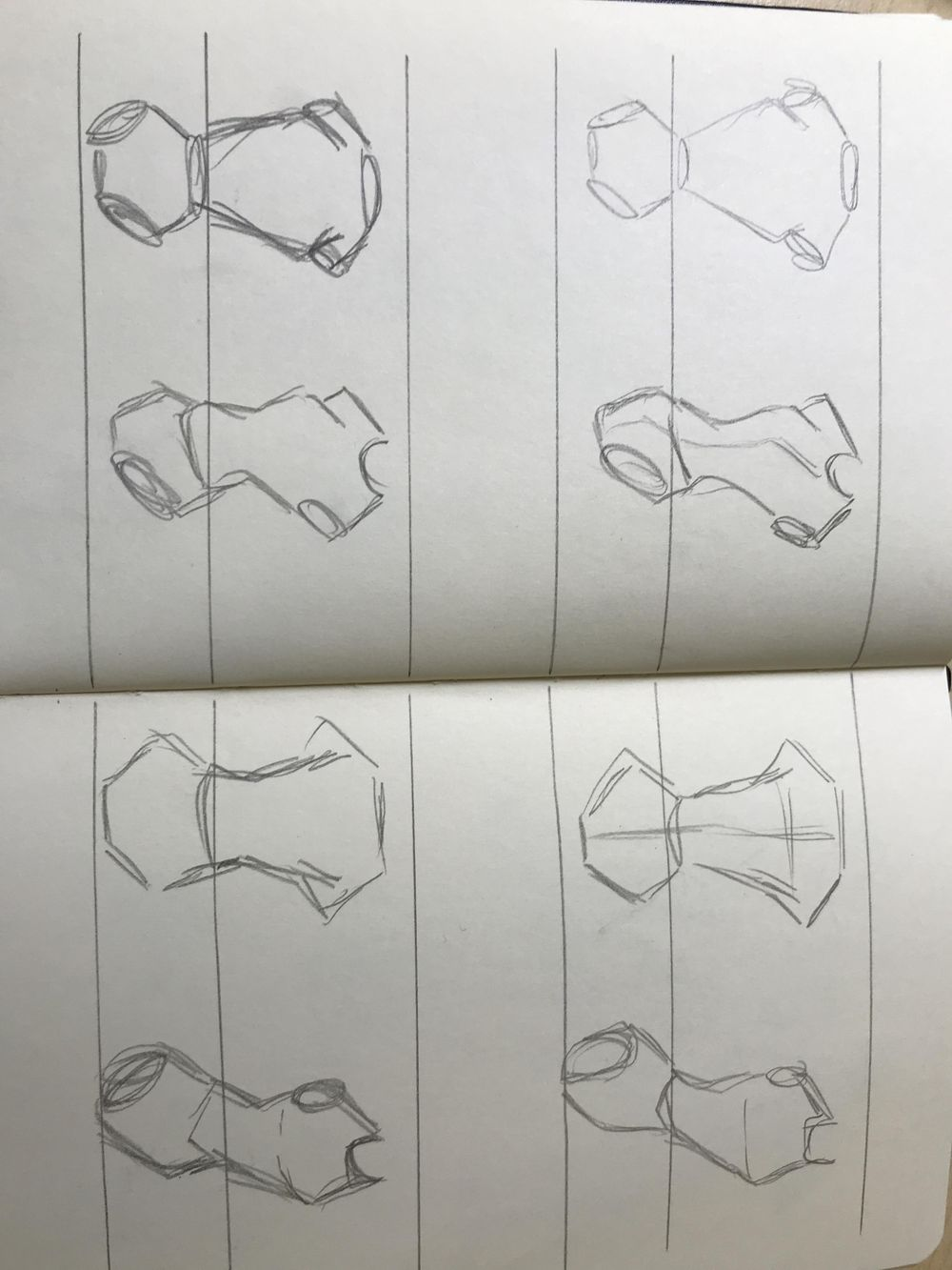 Female Body sketching - image 3 - student project