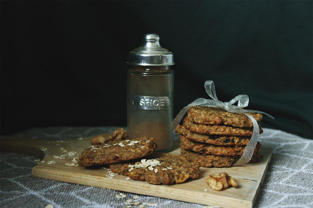 Oat flakes cookies and persimmon - image 3 - student project