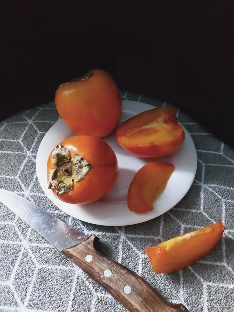 Oat flakes cookies and persimmon - image 1 - student project