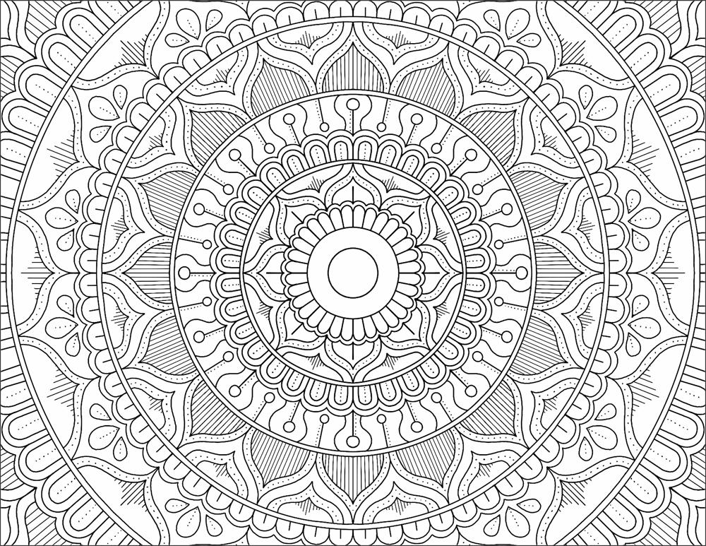 My Mandala Design - image 2 - student project