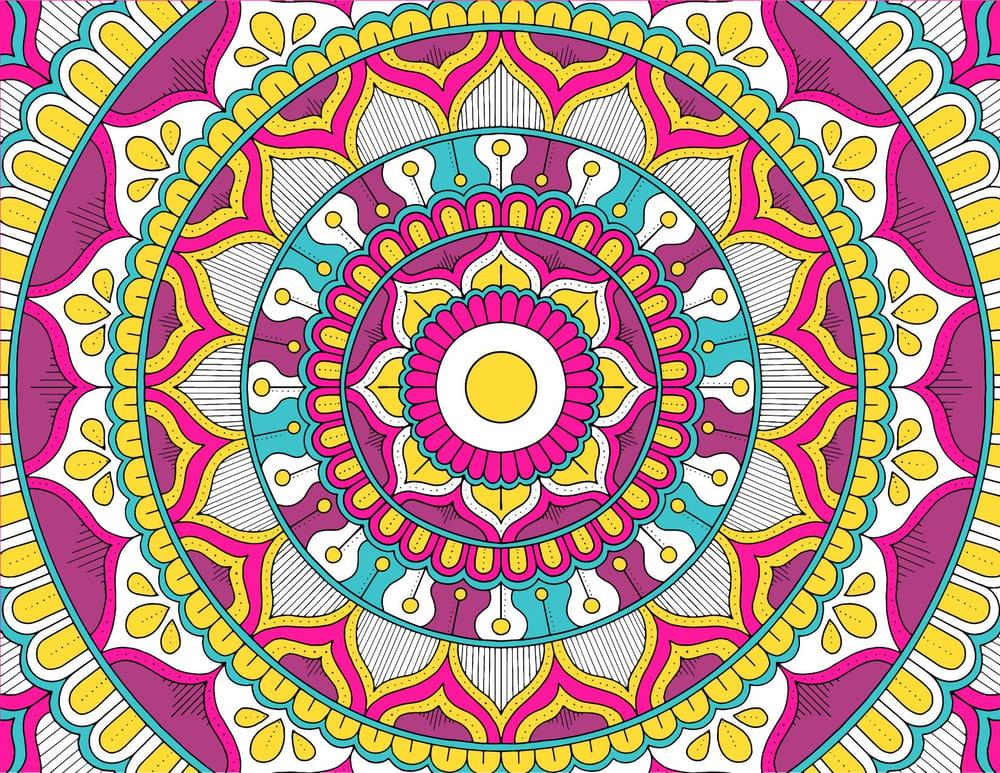 My Mandala Design - image 1 - student project