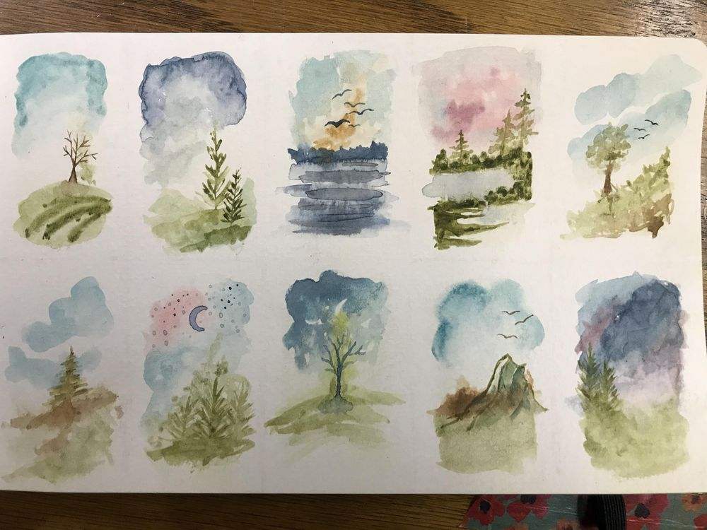 Loose Tiny Landscapes - image 1 - student project