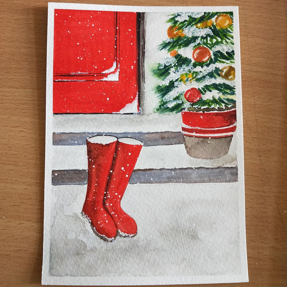 Christmas countdown - image 2 - student project