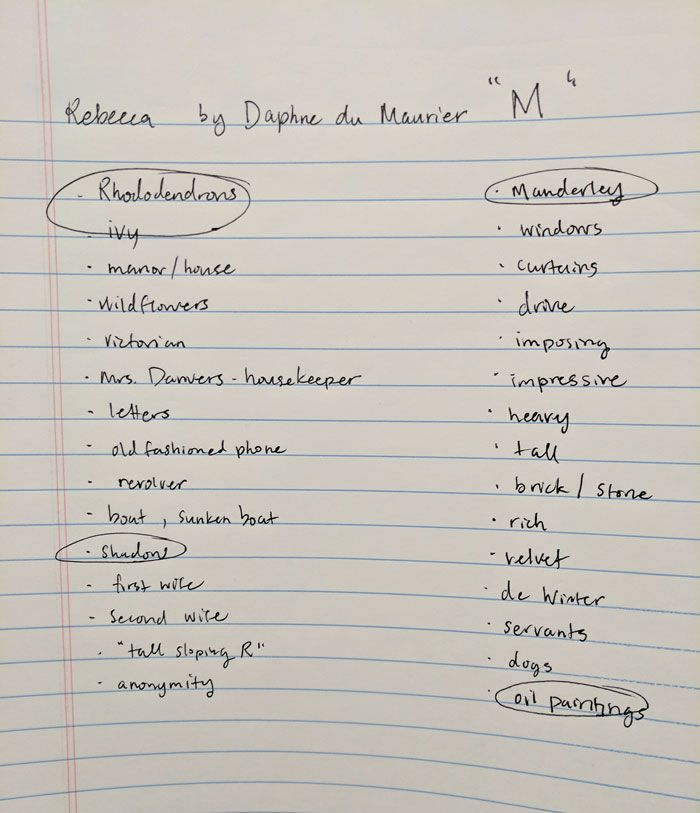 Rebecca // Daphne du Maurier  - image 2 - student project