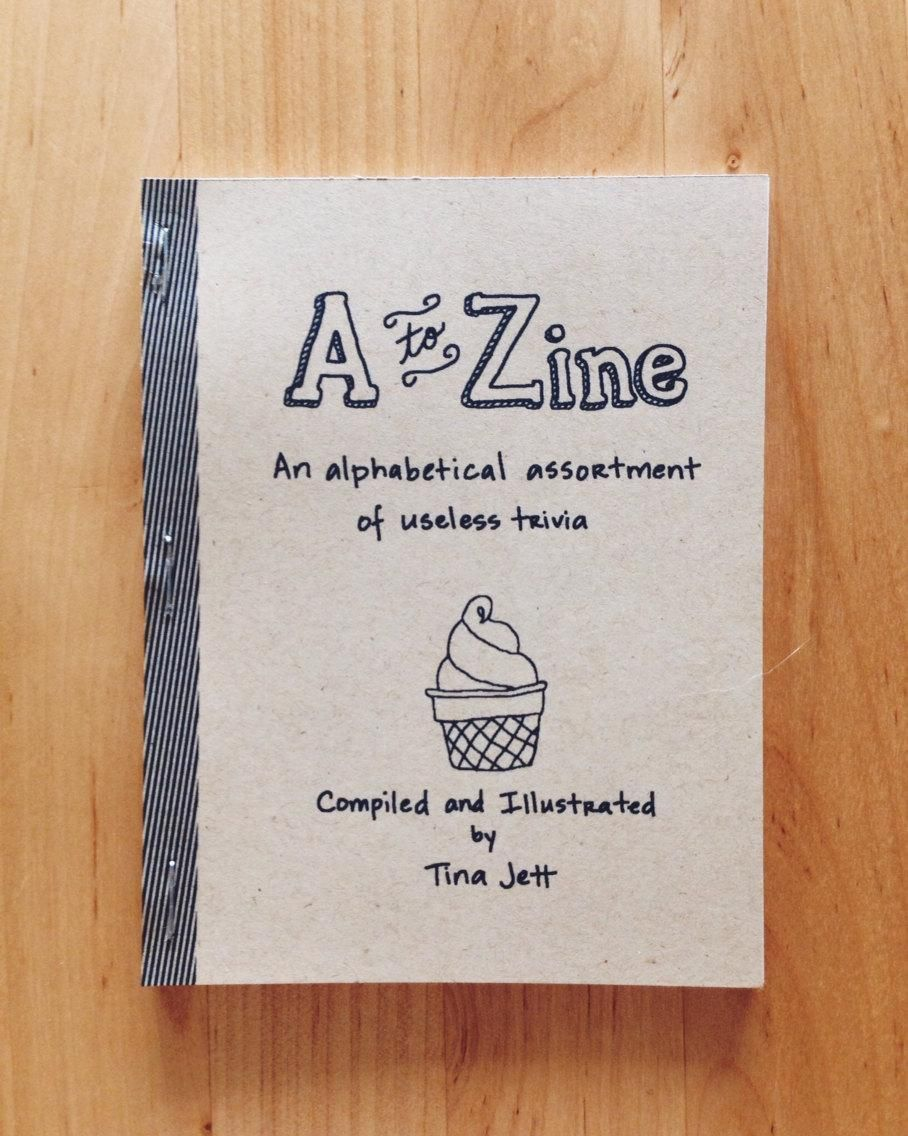 A to Zine - image 5 - student project