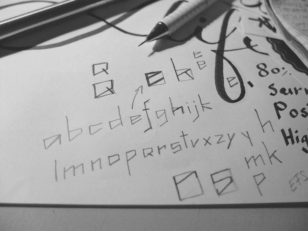 Akido Font by Alexandru Molnar - image 1 - student project