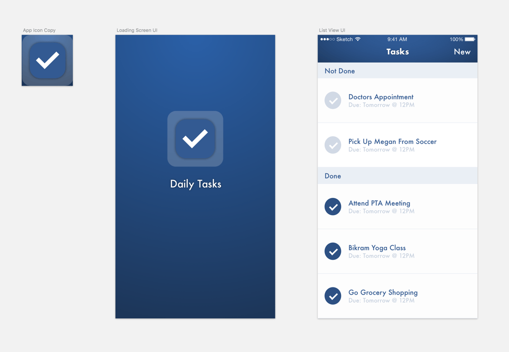 Daily Tasks - image 1 - student project