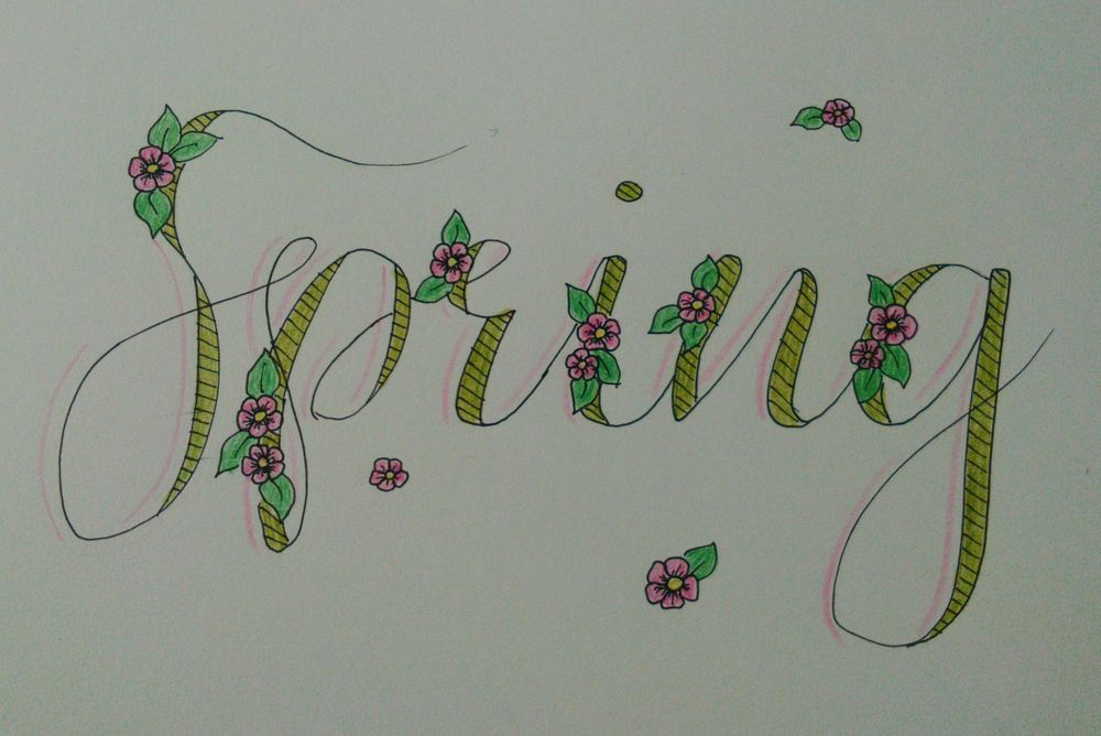 My first lettering project - image 2 - student project