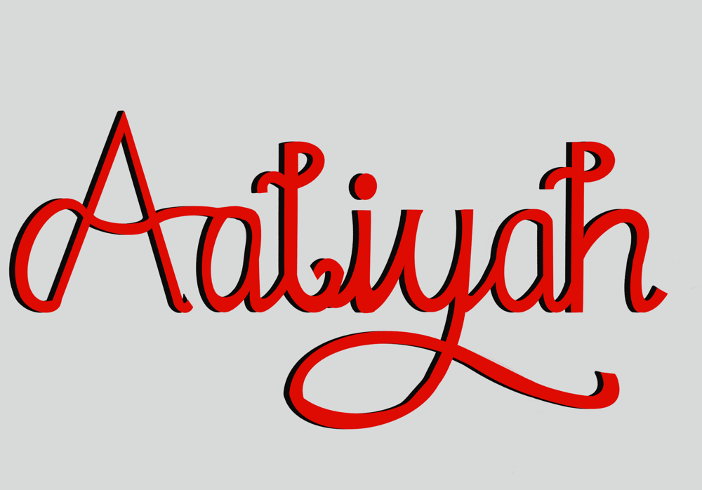 Fun with lettering - image 2 - student project