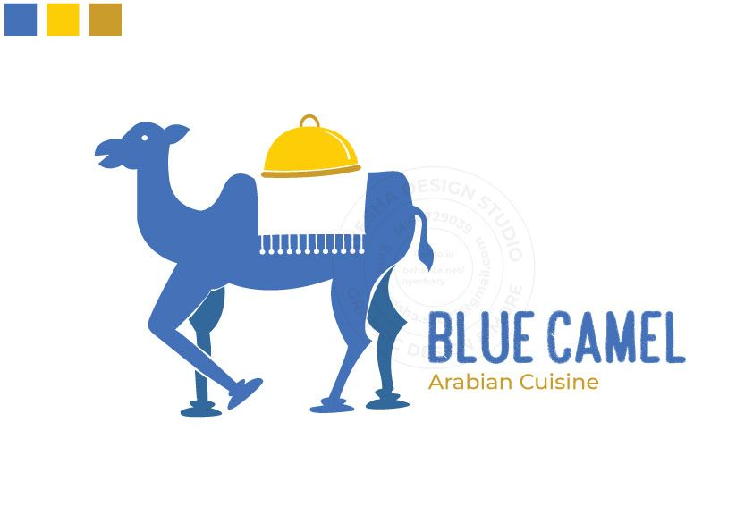 Blue Camel - Arabian Cuisine - image 4 - student project