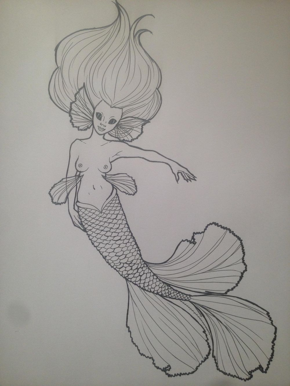 Mermaids - image 2 - student project