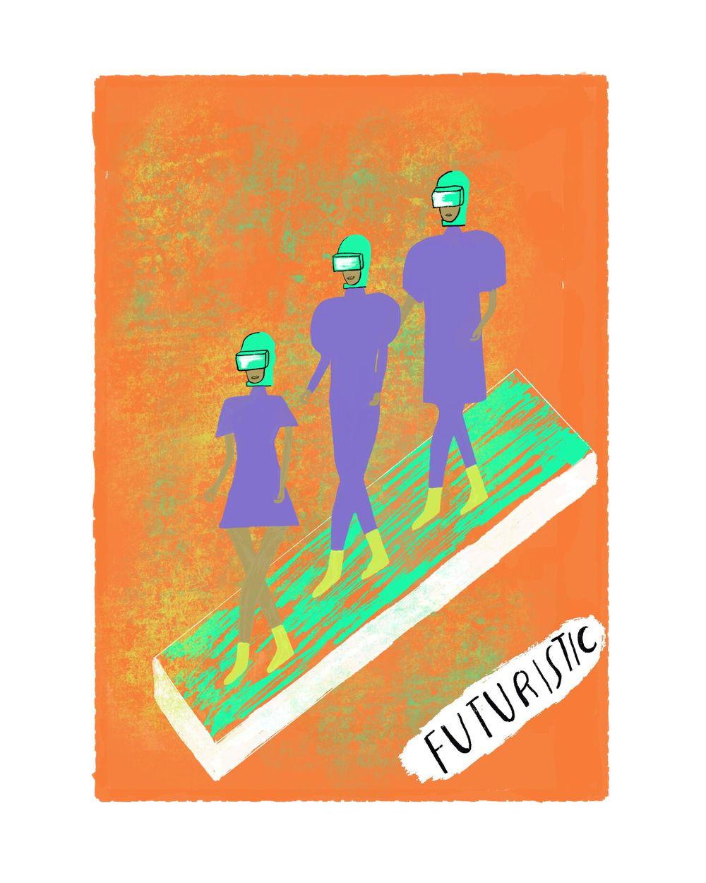 "Andrew Estrada ""The Alphabet of Fashion"" - image 11 - student project"