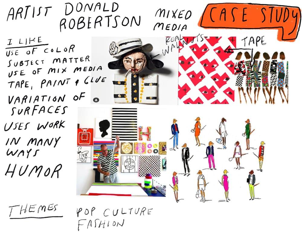 "Andrew Estrada ""The Alphabet of Fashion"" - image 2 - student project"
