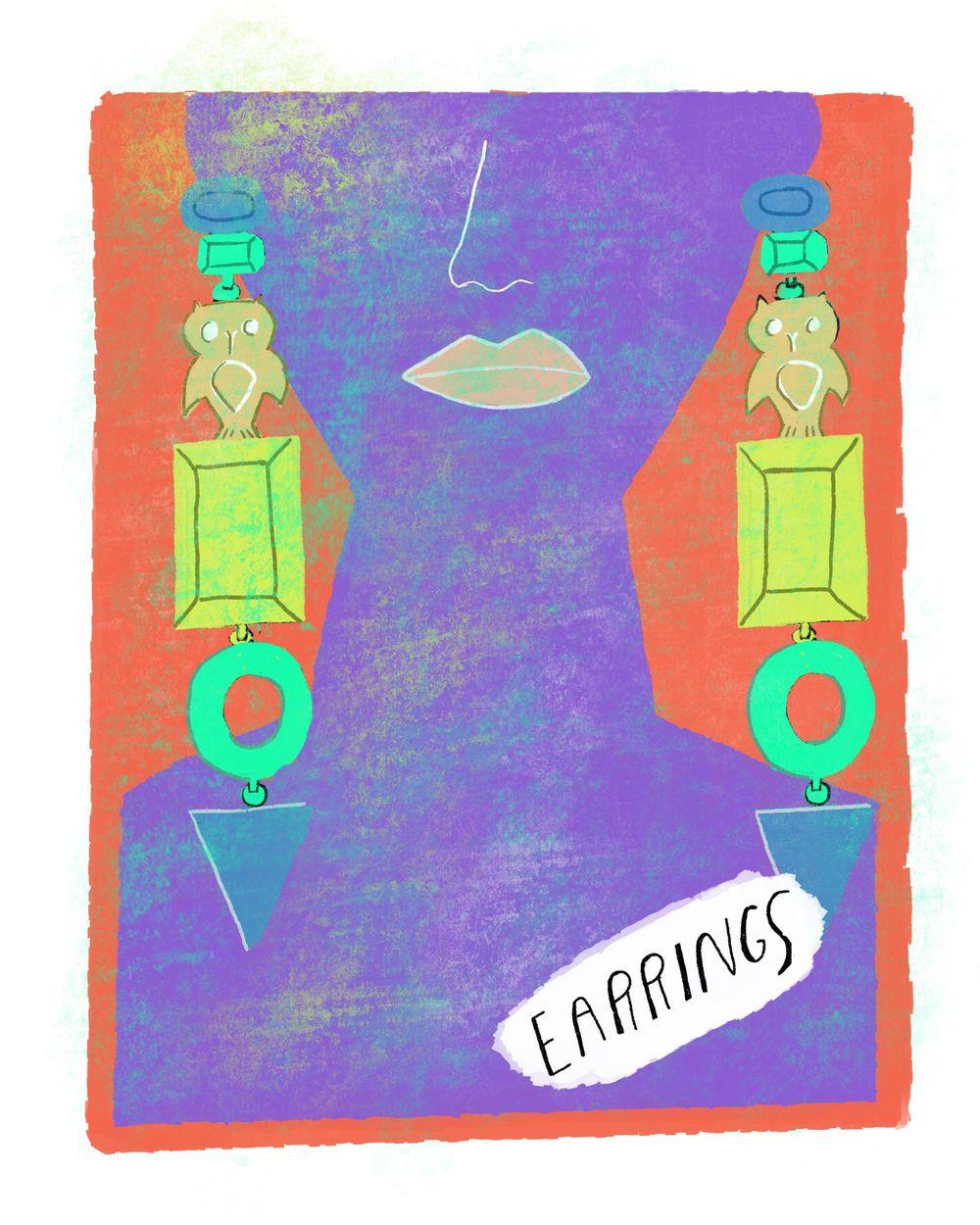 "Andrew Estrada ""The Alphabet of Fashion"" - image 10 - student project"