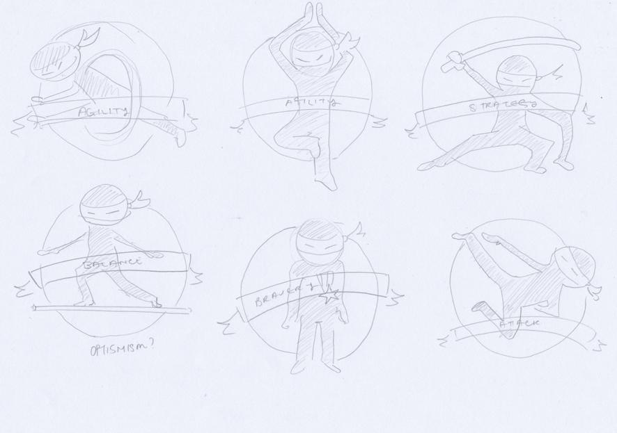 Ninja Badges - image 15 - student project