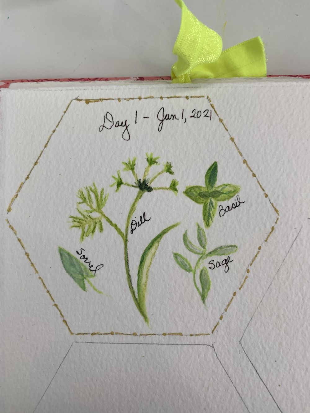 100 Day Watercolor Challenge - image 4 - student project