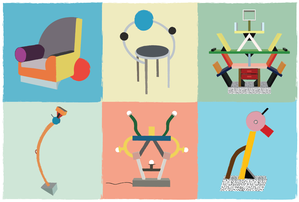 Ettore Sottsass furniture - image 2 - student project