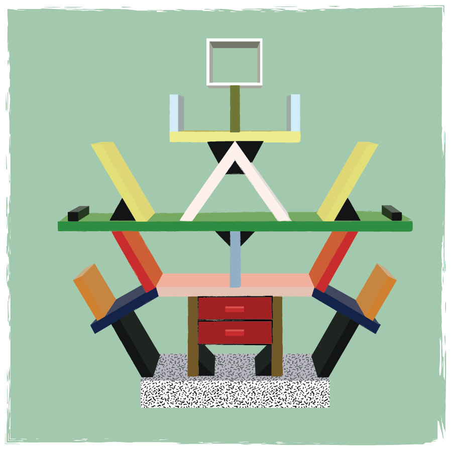 Ettore Sottsass furniture - image 5 - student project