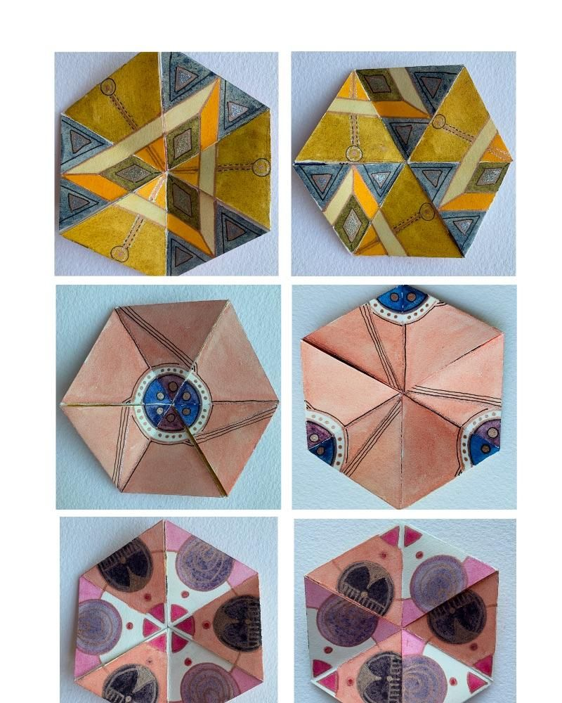 Flexagon Mania! - image 12 - student project