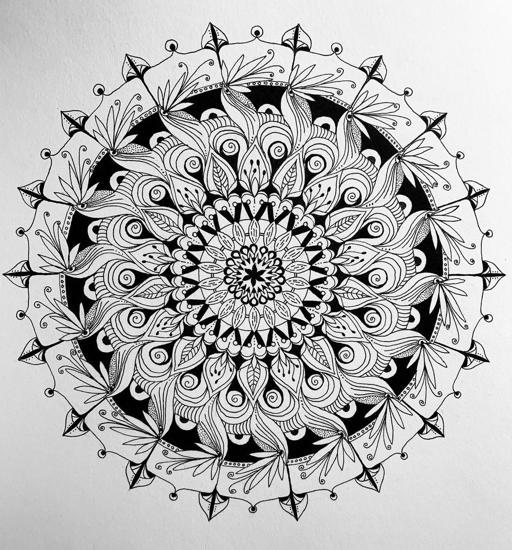 Botanical Mandala - image 3 - student project