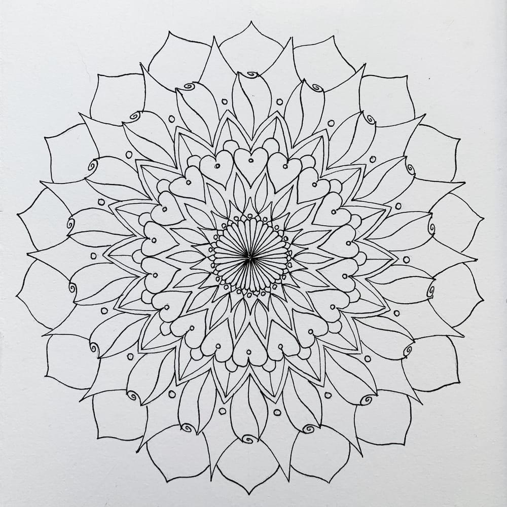 Botanical Mandala - image 4 - student project