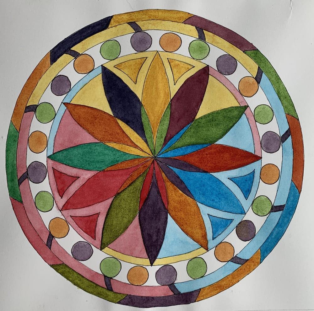Flower Petal Mandalas - image 4 - student project