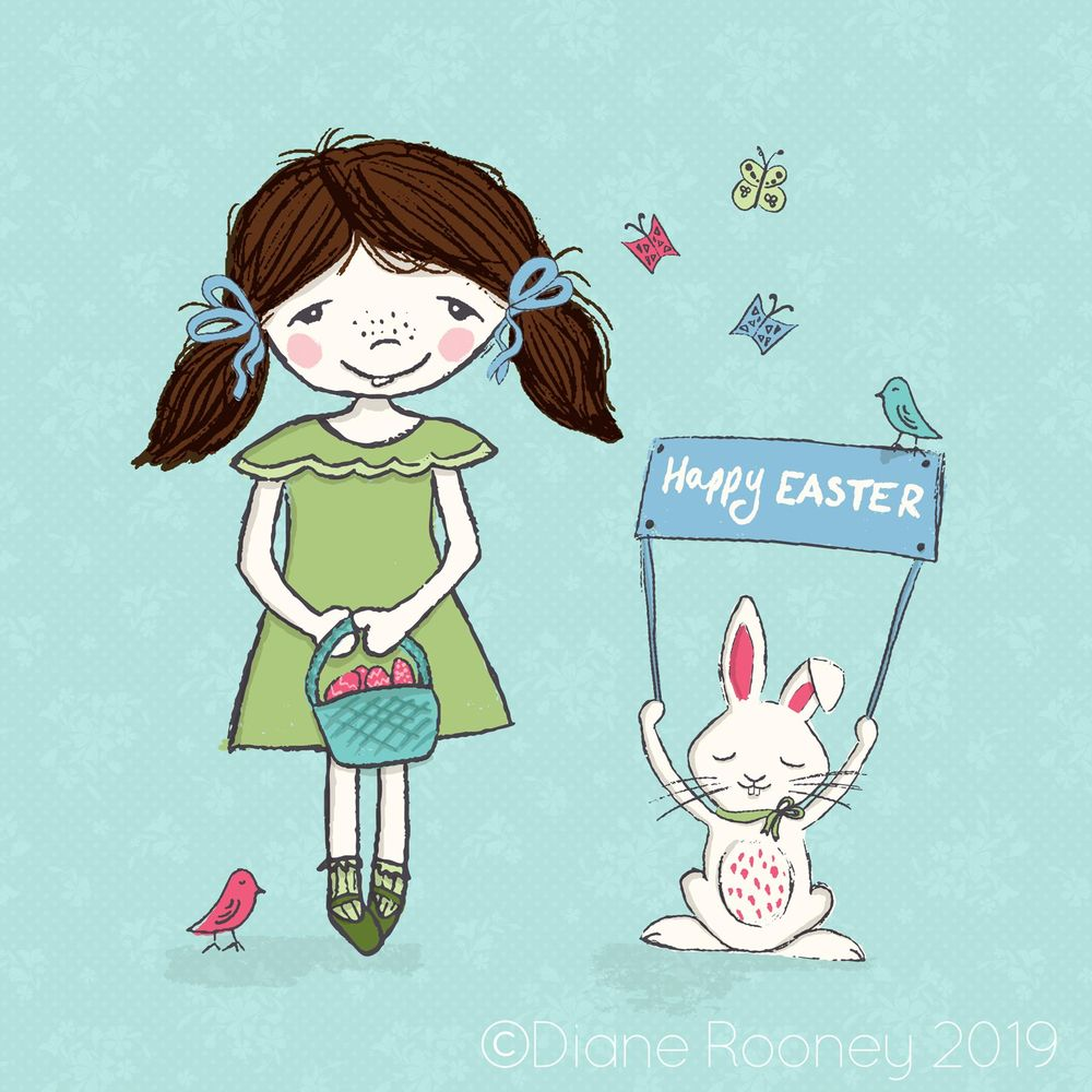 Easter with Little Flo - image 1 - student project