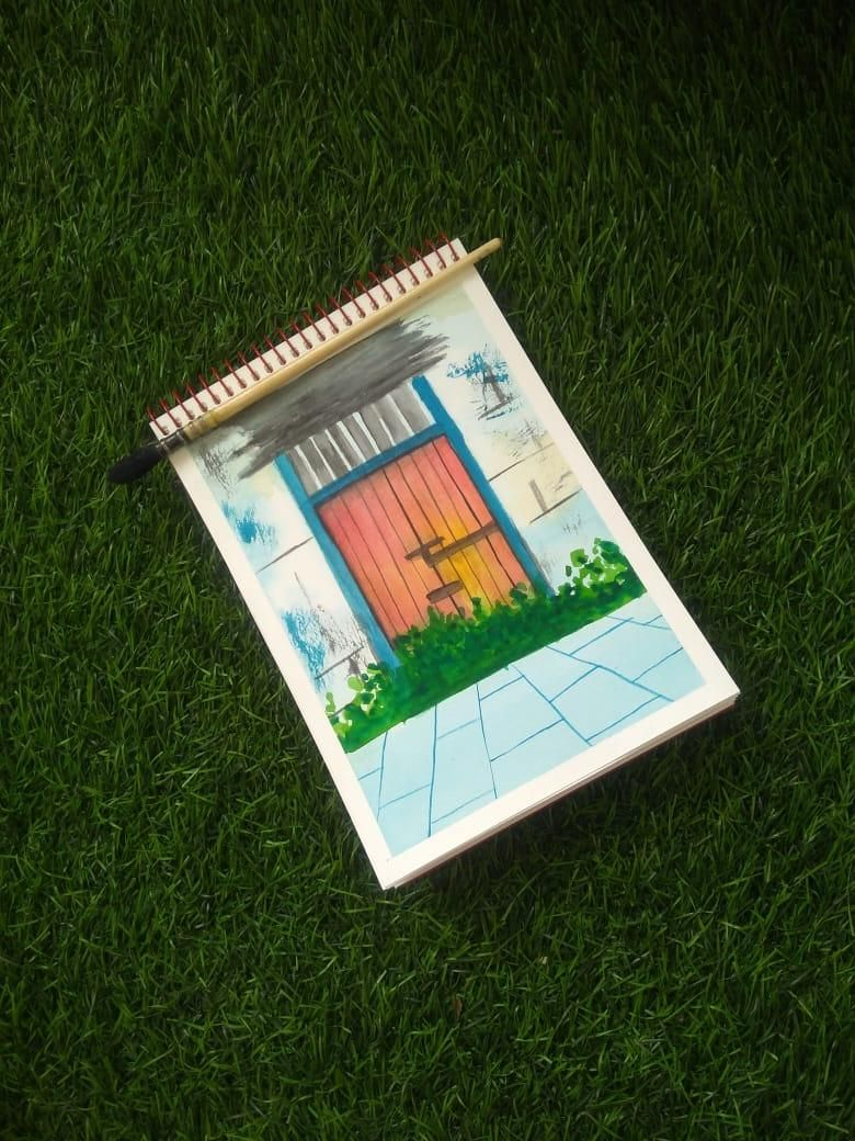 rustic doors class by that crazy doodler(vinita) - image 3 - student project