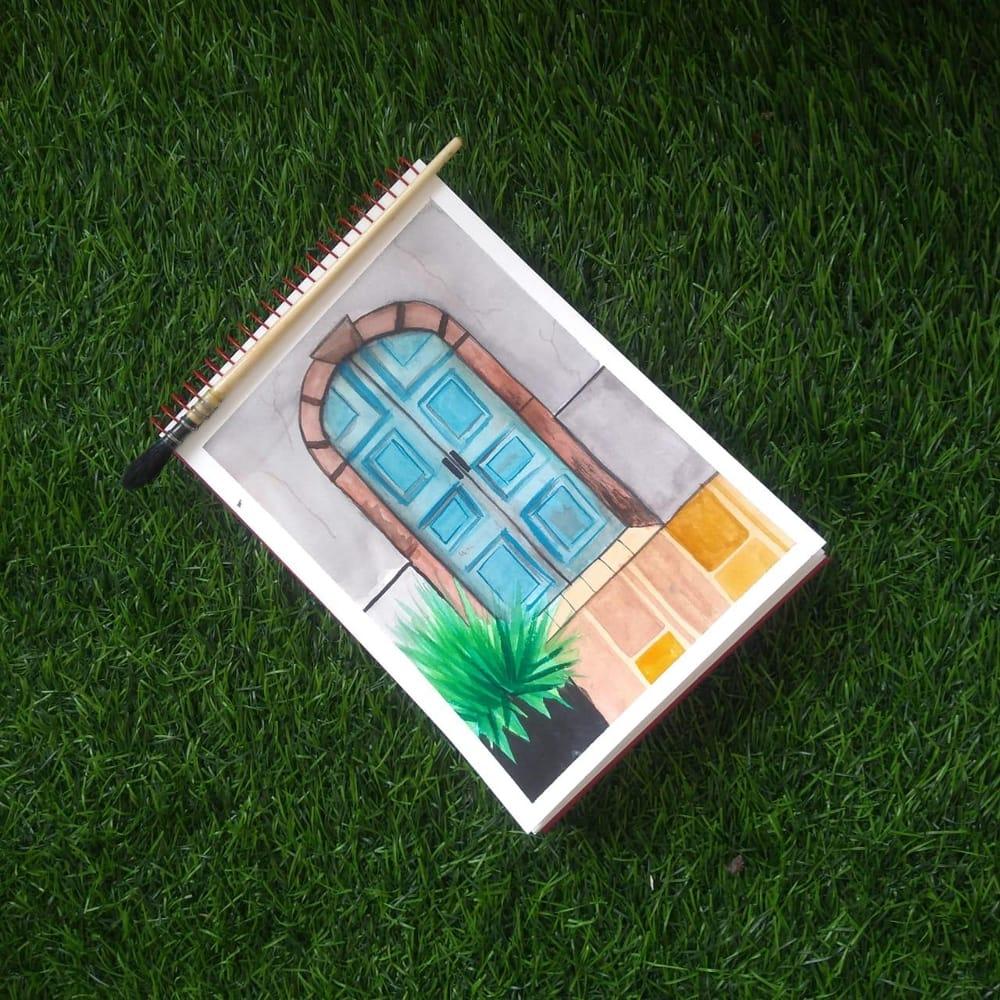 rustic doors class by that crazy doodler(vinita) - image 2 - student project