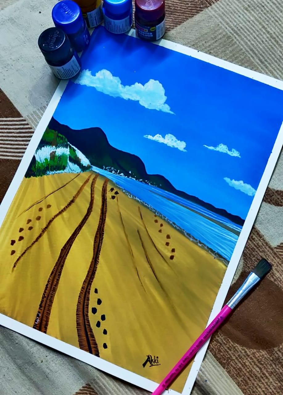 gouache class using poster colours - image 1 - student project