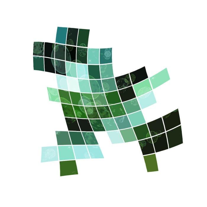 Hi-tech mosaic - image 2 - student project