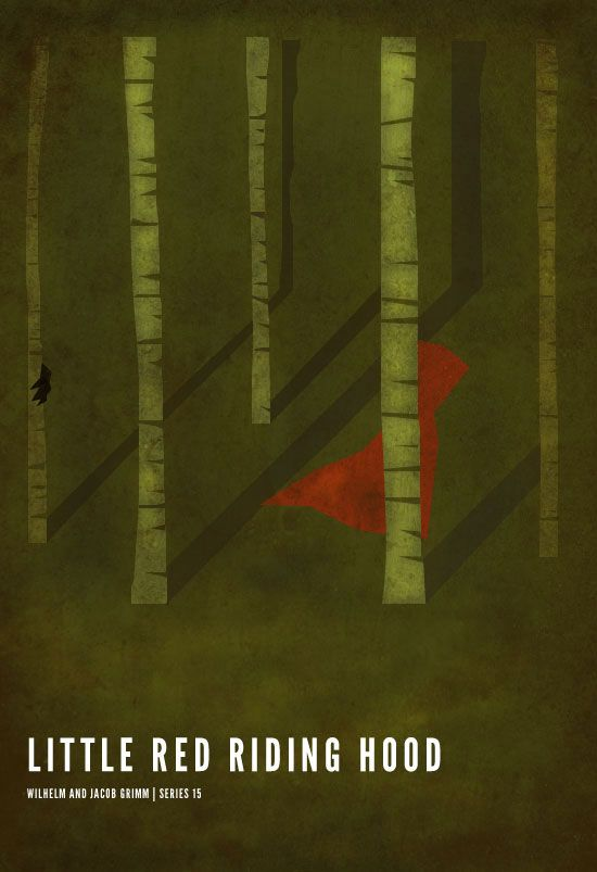 Minimalist Little Red Riding Hood - image 3 - student project