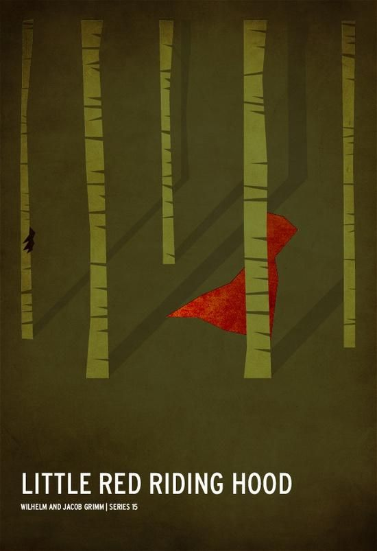 Minimalist Little Red Riding Hood - image 1 - student project