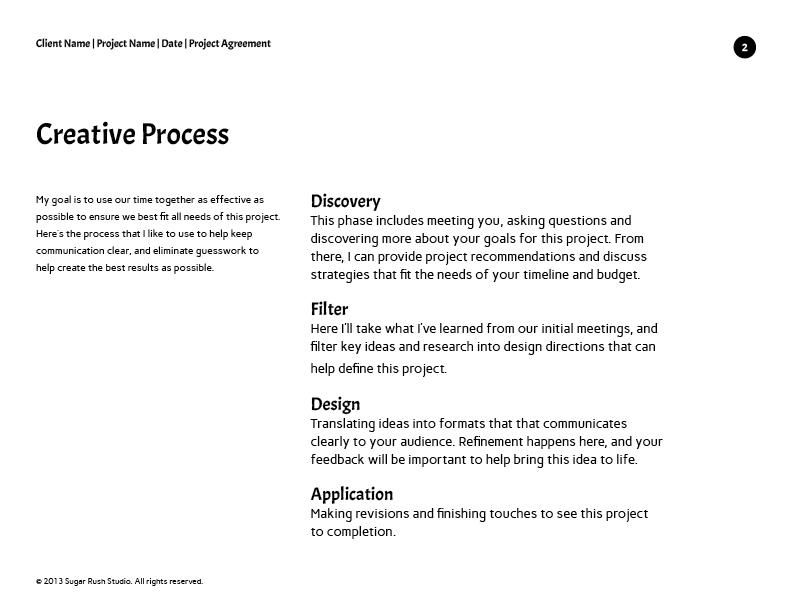 Project Agreement - Sugar Rush Studio - image 2 - student project