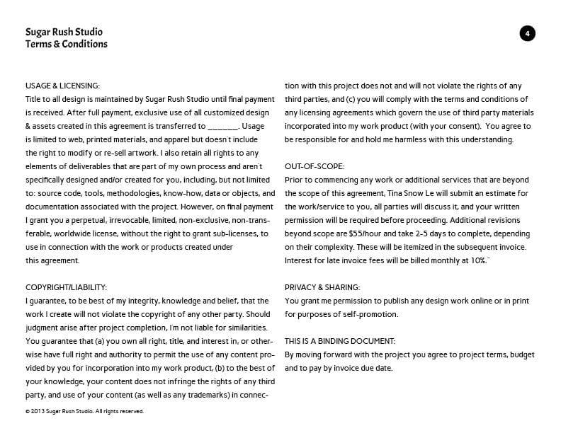 Project Agreement - Sugar Rush Studio - image 4 - student project