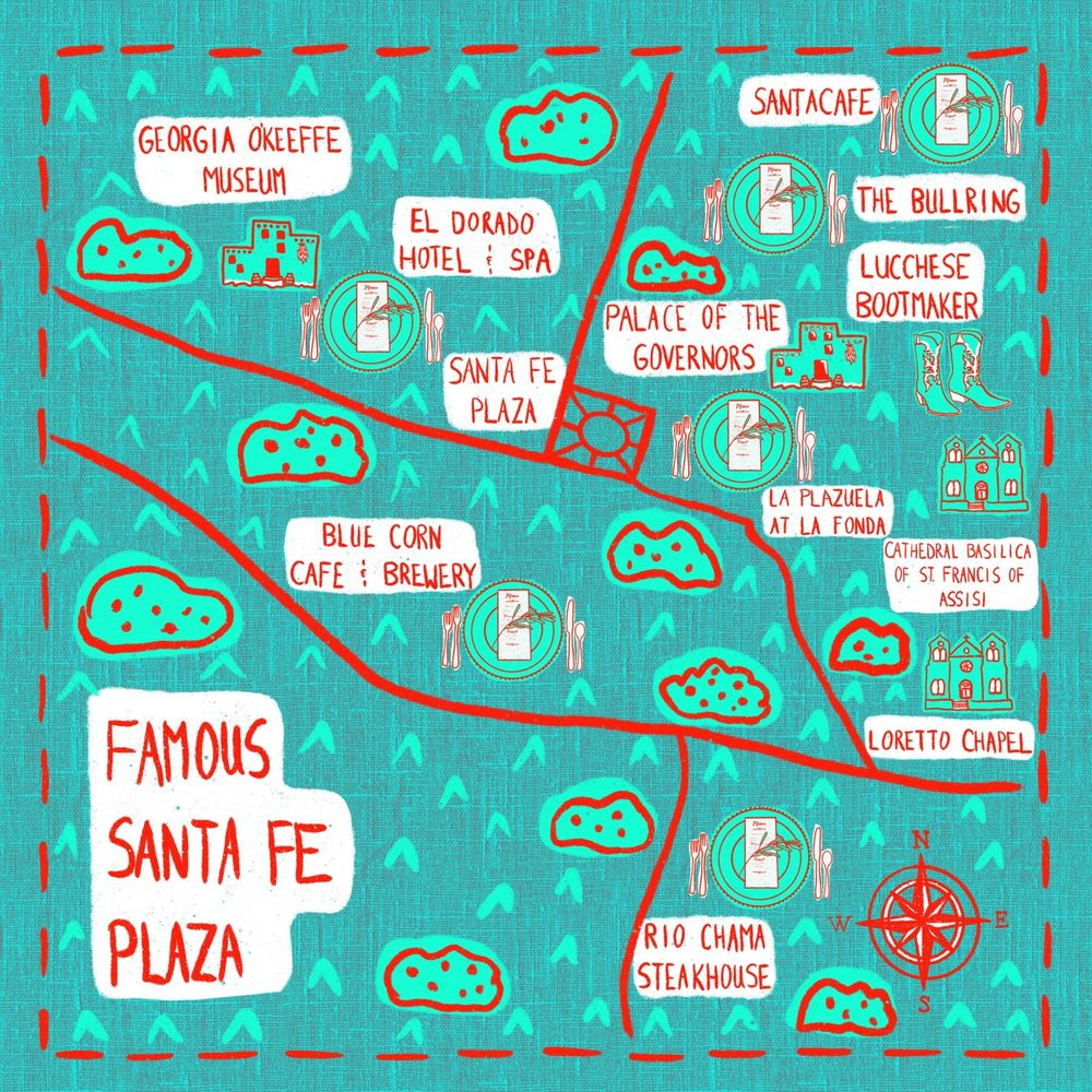 My Favorite Places at the Santa Fe Plaza - image 1 - student project