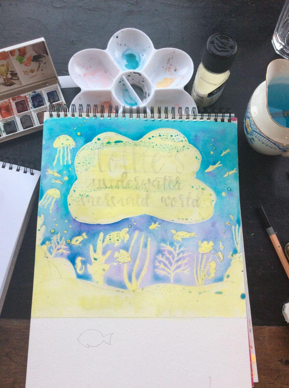 Underwater Mermaid World - image 2 - student project