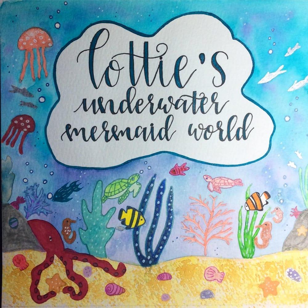 Underwater Mermaid World - image 4 - student project