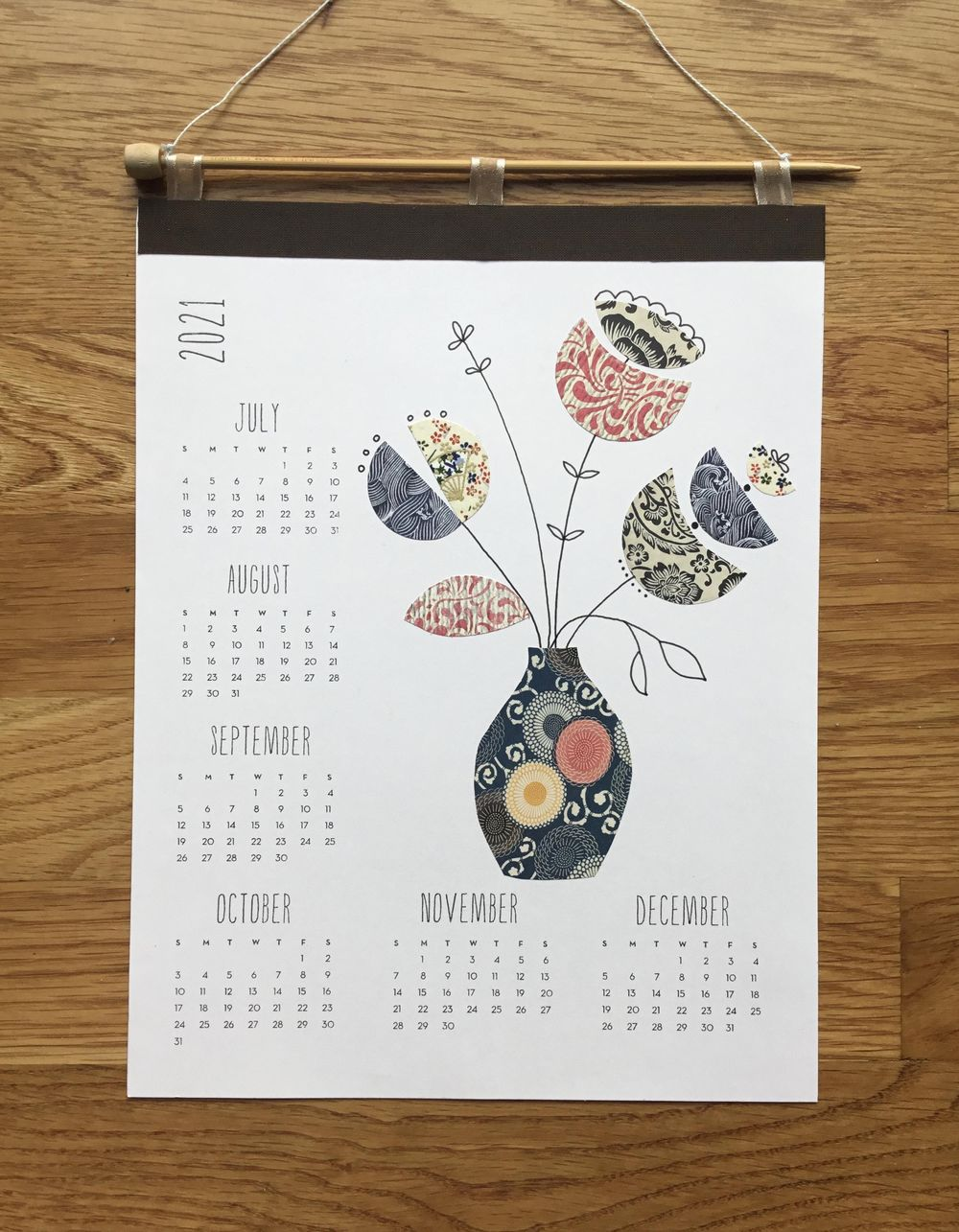 Collage calendar - image 2 - student project